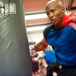 "Former champion Zab ""Super"" Judah works out at the Hit Factory Gym  Photo: Chris Cozzone"