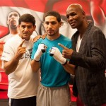 Danny Garcia & Angel Garcia Philadelphia Media Workout Quotes & Photos