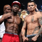 THE MOMENT: Mayweather vs. Maidana Final Weights & Photos
