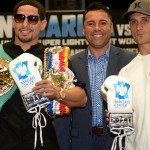 """GARCIA VS. SALKA"" PRESS CONFERENCE QUOTES AND PHOTOS"