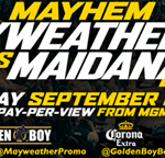 MAYHEM Full Card Announced