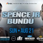 Spence vs Bundu Live on NBC