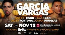 Knock out your post-election blues – Garcia vs Vargas Live on Spike TV